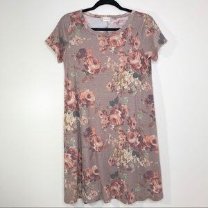 {Altar'd State} Floral Jersey T-Shirt Dress